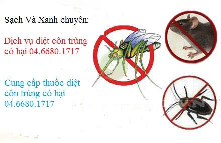 Dcung cấp thuốc diệt côn trùng có hại