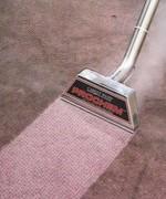 Hút bụi trước giặt thảm